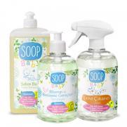 SOOP - SOOP Baby Bebekli Evler Doğal Temizlik Paketi 3'lü