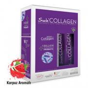 Suda Collagen - Suda Collagen Takviye Edici Gıda Karpuz Aromalı 14x10 gr - Toz Saşe