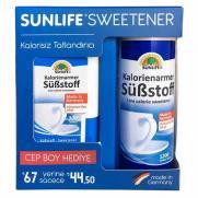 Sunlife - Sunlife Sweetener Kalorisiz Tatlandırıcı Cep Boy Hediyeli