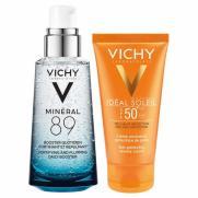 Vichy - Vichy Kuru Ciltler İçin Nemlendirici ve Yüksek Güneş Koruma Seti
