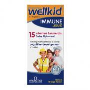 Vitabiotics - Vitabiotics Wellkid Immune Liquid Sıvı Takviye 150 ml   4-10 Yaş