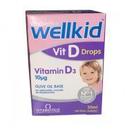 Vitabiotics - Vitabiotics Wellkid Vit Drops Vitamin D3 Takviye Edici Gıda 30 ml