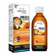 Zade Vital - Zade Vital Miniza Omega 3 - Yer Fıstığı Yağı İçeren Sıvı Takviye Edici Gıda 150 ml