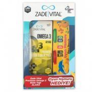 Zade Vital - Zade Vital Premium Omega 3 Balık Yağı 200 ml Alana Oyun Hamuru HEDİYE