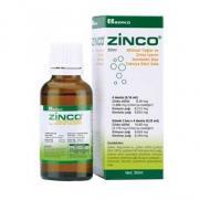 Berko - Zinco Bİtkisel Yağlar ve Çinko İçeren Takviye Edici Gıda 30 ml