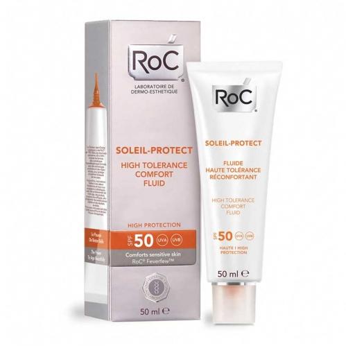 Roc Ürünleri - ROC Soleil Protect Hassas Ciltler için Likit Yüz Nemlendirici SPF 50 50 ml