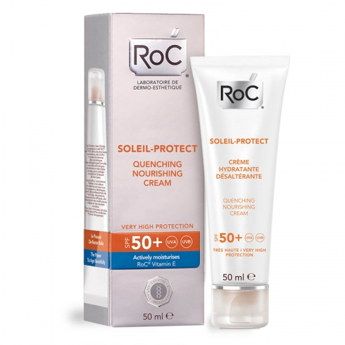 ROC Soleil Protect Yatıştırıcı SPF50 Besleyici Krem 50 ml