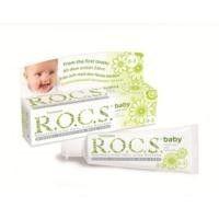 ROCS - ROCS Baby 0-3 Yaş Papatya Özlü Yutulabilen Diş Macunu 35ml.