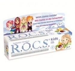 ROCS - ROCS Kids 3-7 Yaş Meyveli Çocuk Diş Macunu (Meyve külahı) 35ml.