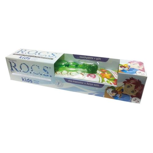 ROCS - Rocs Kids Diş Macunu ve Fırça Seti