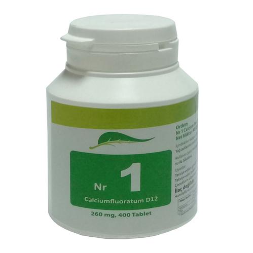 SAS FARMA - Sas Farma Nr.1 Calcium Fluoratum D12 400 Tablet