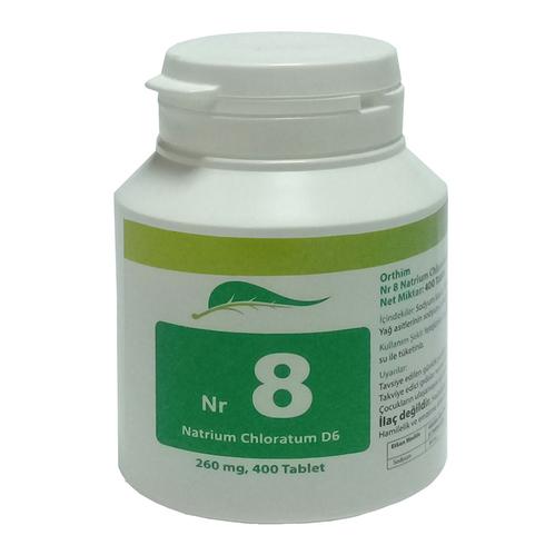 SAS FARMA - Sas Farma Nr.8 Natrium Chloratum D6 400 Tablet
