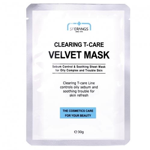 Sferangs - Sferangs Clearing T-Care Velvet Mask 30gr 5 Adet