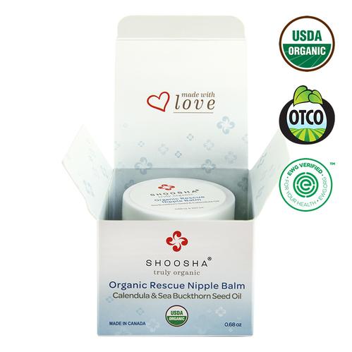 Shoosha - Shoosha Organic Rescue Nipple Balm Göğüs Ucu Kremi 20,1 ml