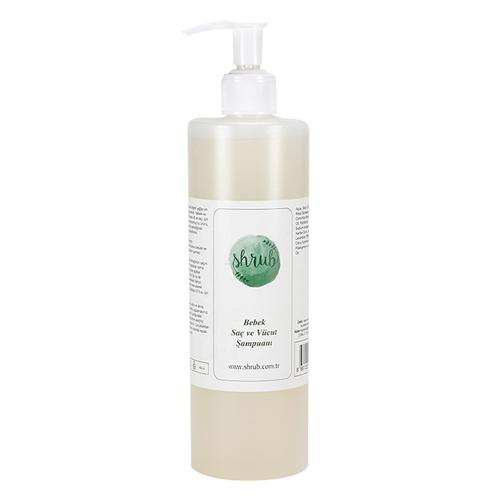 Shrub - Shrub Bebek Saç ve Vücut Şampuanı 400 ml