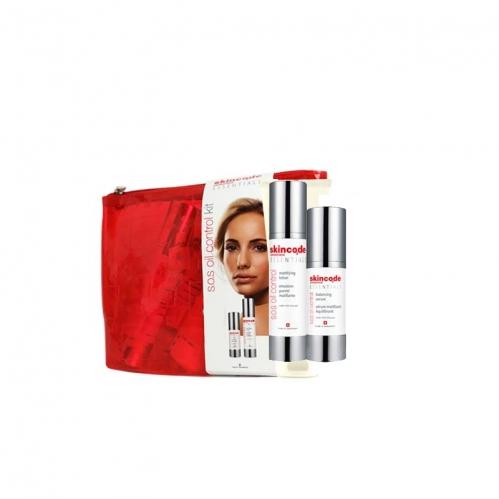 Skincode - Skincode S.O.S. Oil Control KİT