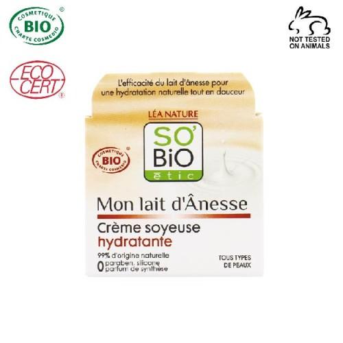 So Bio Etic - So Bio Etic Organik Eşek Sütü İpeksi Nemlendirici 50 ml