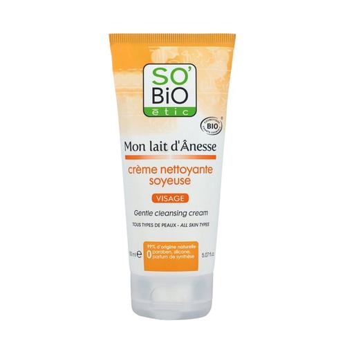 So Bio Etic - So Bio Etic Organik Sertifikalı Eşek Sütlü Yüz Temizleme Kremi 150 ml