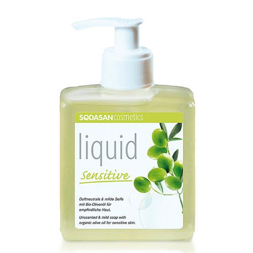 Sodasan - Sodasan Organik Sıvı Sabun Zeytinyağlı Kokusuz Hassas 300 ml