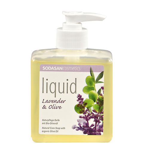 Sodasan - Sodasan Sıvı Sabun Lavantalı (Lavender-Olive) 300 ml