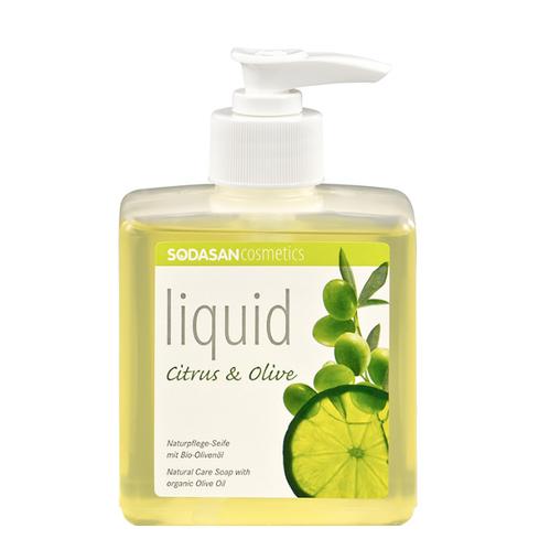 Sodasan - Sodasan Sıvı Sabun Limonlu (Citrus-Olive) 300 ml