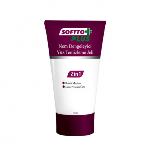 Softto Ürünleri - Softto Plus 2in1 Yüz Temizleme Jeli 150 ML