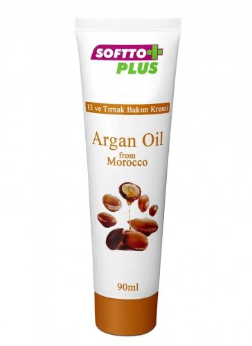 Softto Ürünleri - Softto Plus Argan Yağlı El Kremi 90 ML