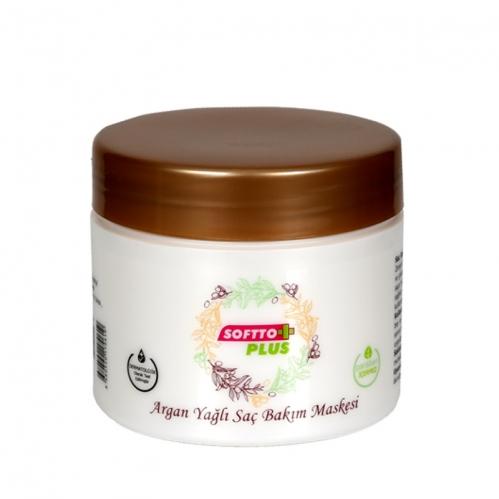 Softto Ürünleri - Softto Plus Argan Yağlı Saç Bakım Maskesi