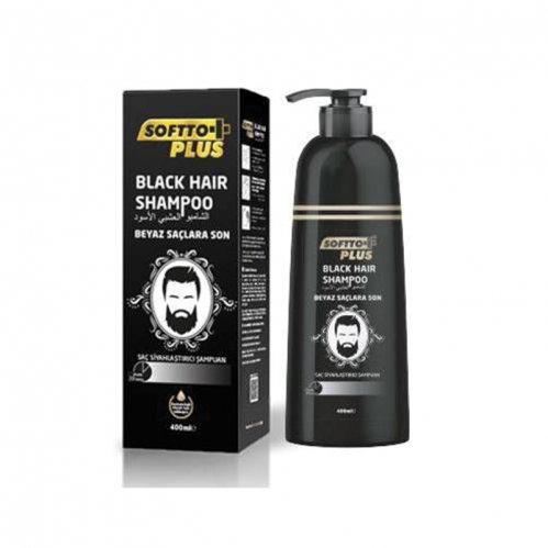 Softto Ürünleri - Softto Plus Black Hair Şampuan 350 ml