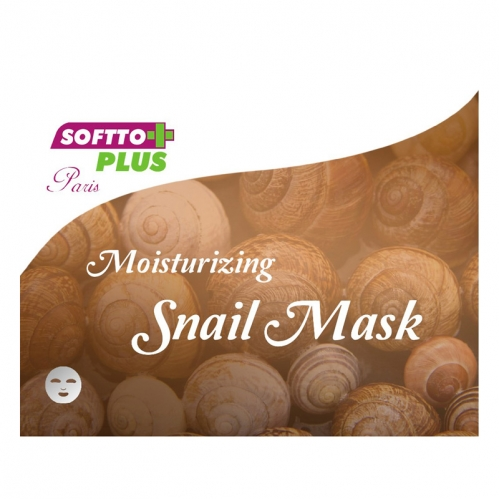 Softto Ürünleri - Softto Plus Salyangoz Özlü Cilt Maskesi 25 ML