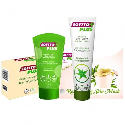 Softto Ürünleri - Softto Plus Siyah Nokta Karşıtı Bakım Seti