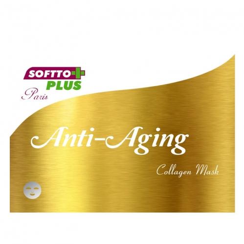 Softto Ürünleri - Softto Plus Yaşlanma Karşıtı Kolajen Cilt Maskesi 25 ML