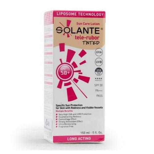 Solante - Solante Telerubor Tinted SPF 50+ Losyon 150 ml