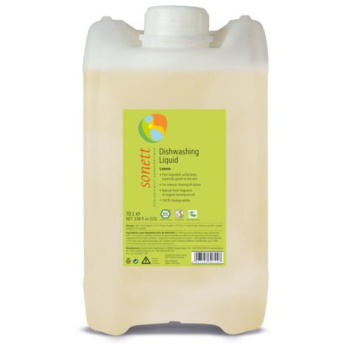 Sonett - Sonett Elde Bulaşık Yıkama Sıvısı Organik Limonotlu 10L