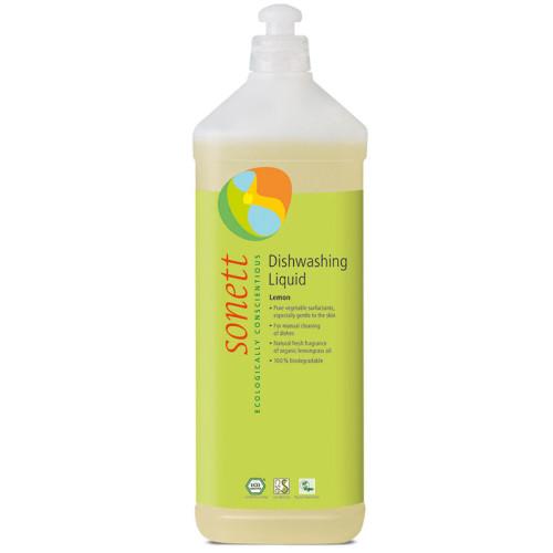 Sonett - Sonett Elde Bulaşık Yıkama Sıvısı Organik Limonotlu 1L