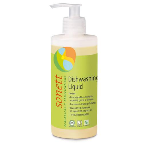 Sonett - Sonett Elde Bulaşık Yıkama Sıvısı Organik Limonotlu 300 ml