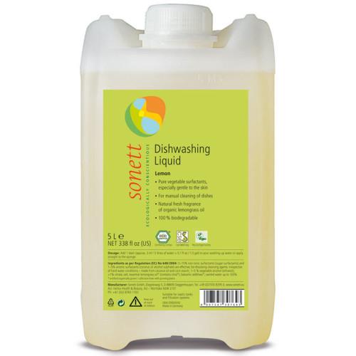Sonett - Sonett Elde Bulaşık Yıkama Sıvısı Organik Limonotlu 5L