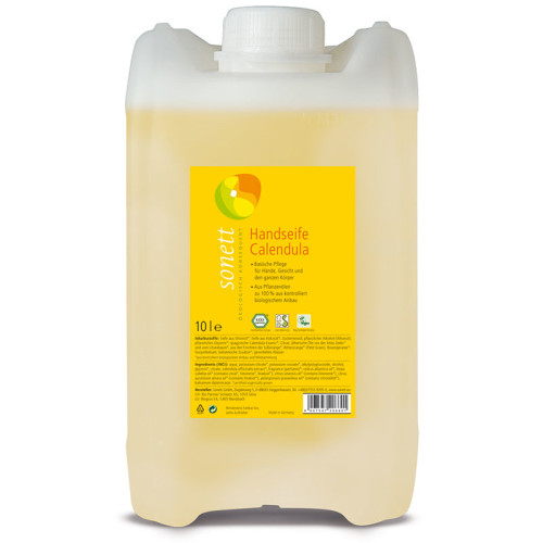 Sonett - Sonett Sıvı El Sabunu Organik Calendula 10L