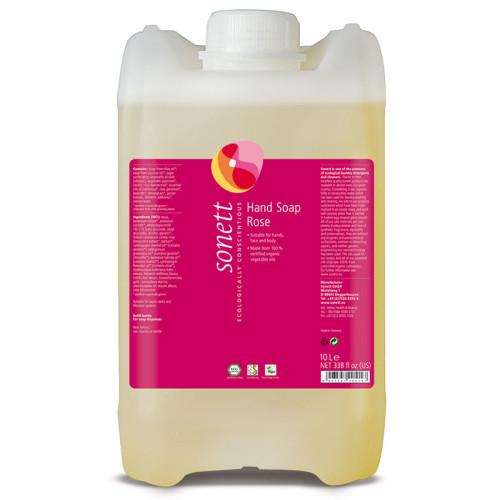 Sonett - Sonett Sıvı El Sabunu Organik Gül 10L