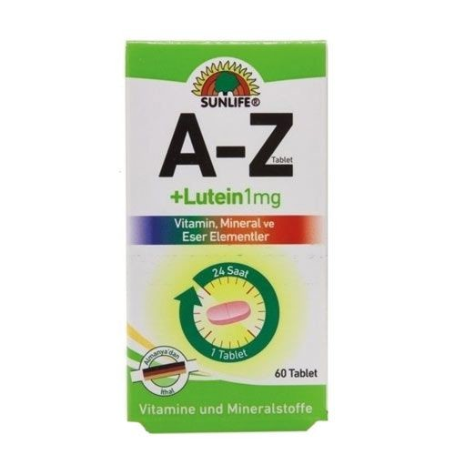 Sunlife - Sunlife A-Z Lutein 60 Tablet