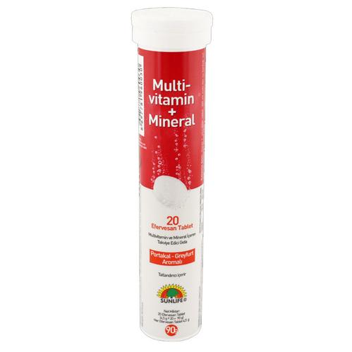Sunlife - Sunlife Multi Vitamin Mineral 20 Tablet