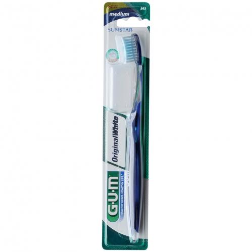Sunstar GUM - Sunstar Gum Original White Medium Diş Fırçası
