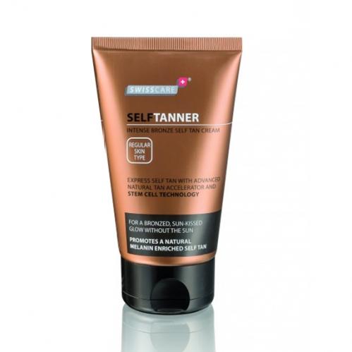 Swisscare - Swisscare SelfTanner Intense Bronze Self Tan Cream 150ml - Güneşsiz Bronzlaştırı Krem