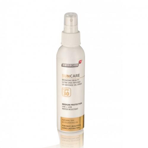 Swisscare - Swisscare SunCare Bronzing Beauty Defense Oil Sprey SPF30 150ml
