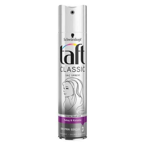 Taft - Taft Classic Ekstra Güçlü Sprey 250 ml