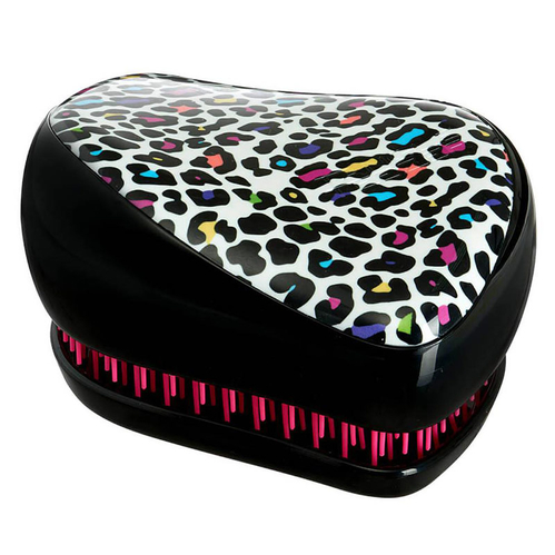 Tangle Teezer - Tangle Teezer Compact Styler Multi Leopard Print Saç Fırçası