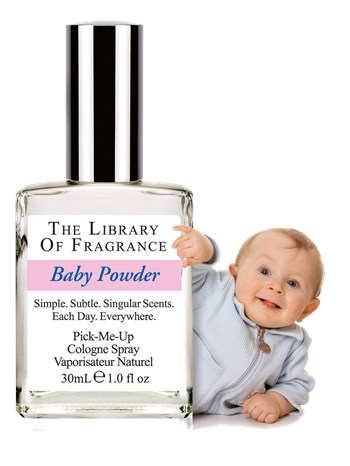 The Library Of Fragrance - The Library Of Fragrance Baby Powder EDC Sprey 30ml Kadın Parfümü