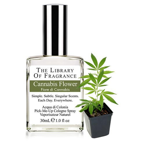 The Library Of Fragrance - The Library Of Fragrance Cannabis Flower EDC Sprey 30ml Kadın Parfümü