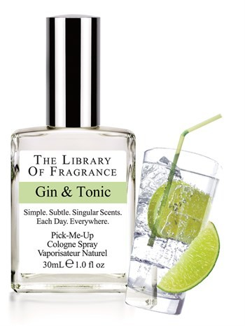 The Library Of Fragrance - The Library Of Fragrance Gin & Tonic EDC Sprey 30ml Erkek Parfümü