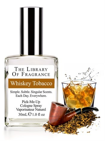The Library Of Fragrance - The Library Of Fragrance Whisky Tobacco EDC Sprey 30ml Erkek Parfümü